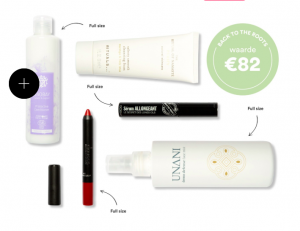 Beauty Box Voorbeeld