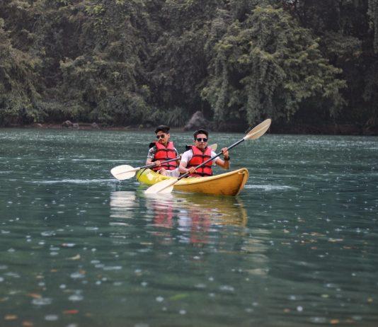 kayakken in frankrijk
